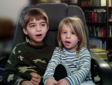 Boaz & Einya singing