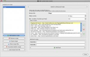 Calibre - Adding a Custom News Source