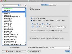 Calibre - Scheduling