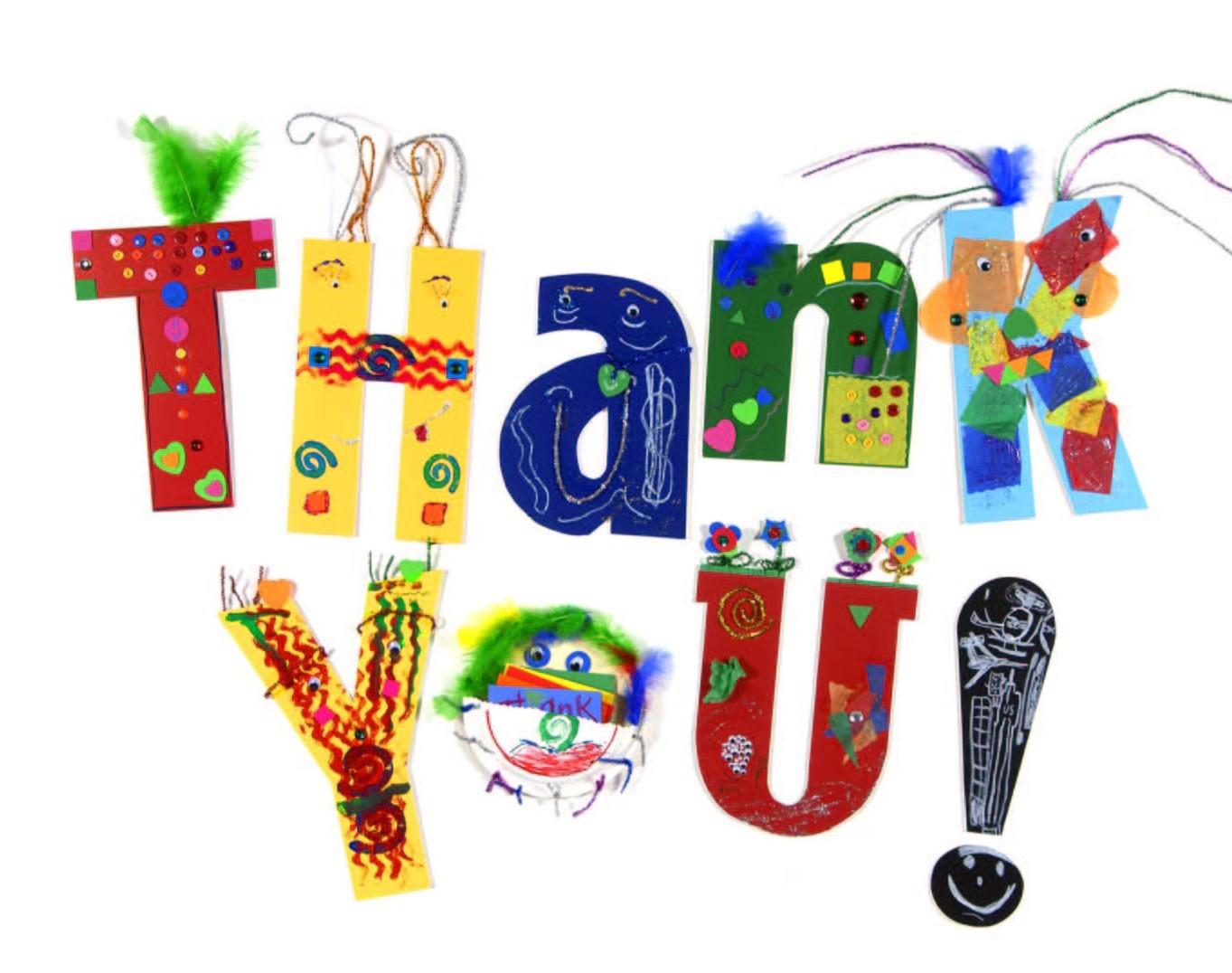 A GIANT THANK YOU!! xox Thank-you